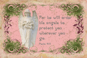 For he will order his angels to watch over you