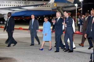 Prime Minister Kamla Persad-Bissessar, Vice President Joseph Biden and ...