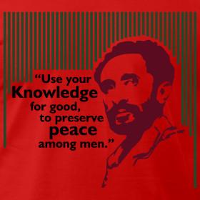 Design Haile Selassie I Quote