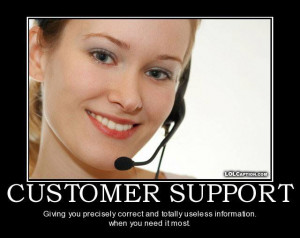 ... | Category: Funny Pictures // Tags: Customer support // August, 2013