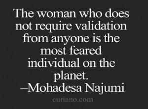 Validation quote