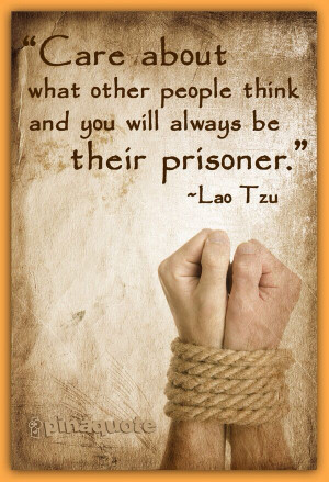 what other people think... ~Quotes
