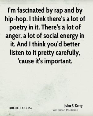 John F. Kerry Poetry Quotes