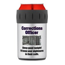 Corrections Officer Thermos® Can Cooler for