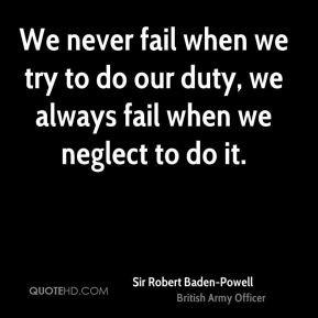 Sir Robert Baden Powell Quotes