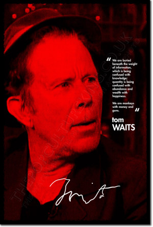Details about TOM WAITS SIGNED ART PHOTO PRINT AUTOGRAPH POSTER GIFT ...