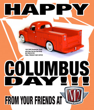 Happy Columbus Day from M2!!!