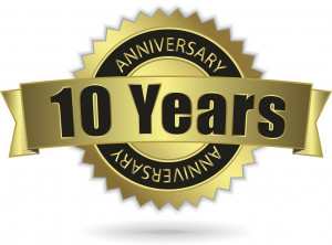 Keep calm and… Happy 10th Anniversary!