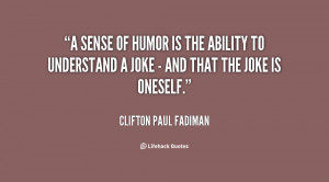 Dry Sense of Humor Quotes
