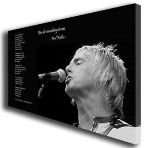 Details about PAUL WELLER THE JAM QUOTE CANVAS WALL ART BOX PRINT 325