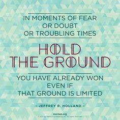 Elder Jeffery R. Holland- quotes