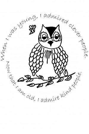 wise old owl quote Owl Quotes