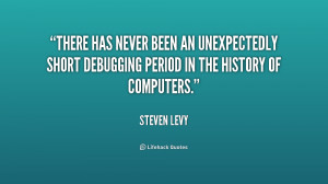 ... an unexpectedly short debugging period in the history of computers