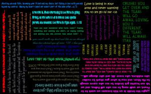 Love Sayings wallpaper by xWINGEDxVAMPIREX