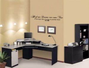 ... Walt Disney Dream Quote - Vinyl Wall Art Decal Stickers Decor Graphics