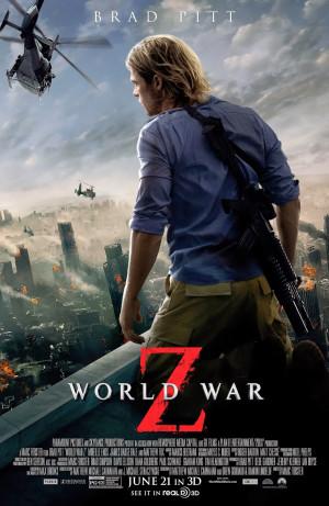 World War Z by Marc Forster, 2013 (PG13)