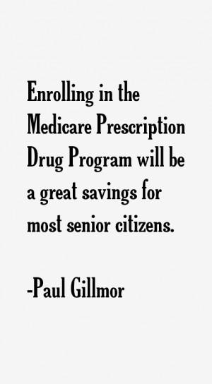 Paul Gillmor Quotes & Sayings