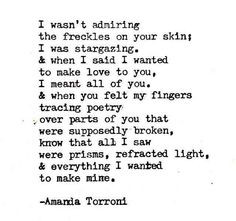... want to make mine more thoughts amanda torroni i want to make you