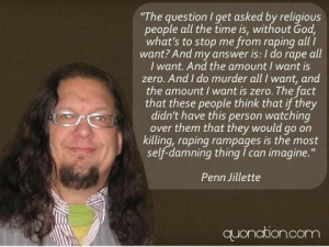 Another great Penn quote
