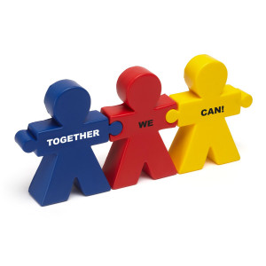 Teamwork Quotes For The Office Teamwork trio stress reliever