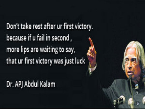 Back > Quotes For > Famous Quotes By Abdul Kalam