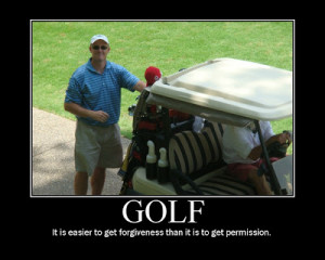 Golf Quotes Funny Definition