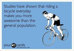 ... buy happiness but you can buy a bike and that's pretty close