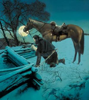An artistic interpretation: Like night raids in Afghanistan?