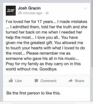 Update: Gracin has since been hospitalized and is on psychiatric hold ...