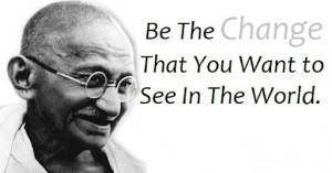 Mahatma Gandhi Biography with Quotes and Inspiring Photos