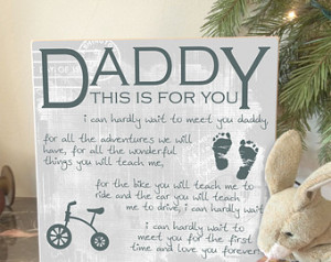 Daddy To Be Gift, New Dad Gift, New Baby, Christmas Gifts Dad, New Dad