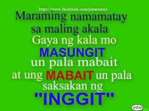 quotes mabait quotes inggit quotes masungit quotes mabait quotes ...