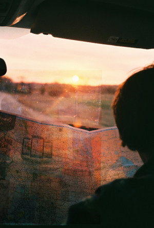 photography film Personal sunset road trip Canon AE-1