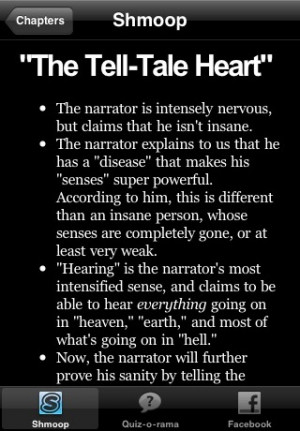 More apps related The Tell-Tale Heart Study Guide & Quiz-o-Rama