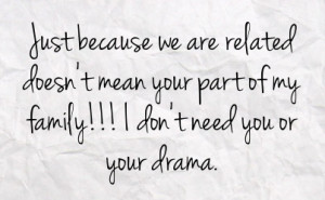 Drama Facebook Family...