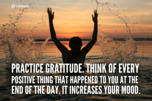 30sec Tip: How to Improve Your Mood Easily? Practice Gratitude. Think ...