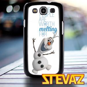 Disney Frozen Olaf Quotes Olaf quote frozen disney case