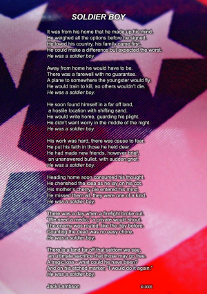 poem soldier love poems it is harder for a soldier to soldier love ...