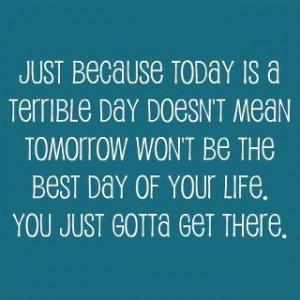 optimism...the best drug