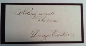 Downton Abbey Quote: Violet