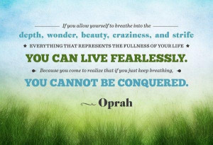Quotes Keep You Going ~ Oprah quotes about life quotes to keep you ...