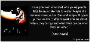 Have you ever wondered why young people take to music like fish to ...
