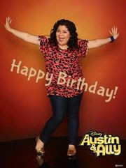HAPPY BIRTHDAY RAINI RODRIGUEZ!