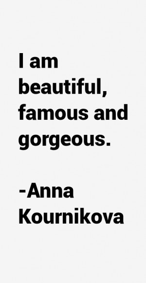 Anna Kournikova Quotes & Sayings