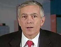 Wesley Clark, 2004 Democratic presidential candidate, discusses Saddam ...