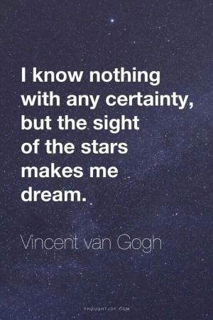 Does star gazing make you dream, too?