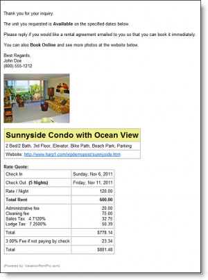 Feature-packed Vacation Rental Management Software