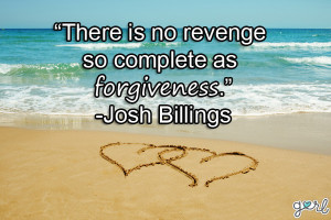 Giving forgiveness to another believer is a gift to yourself because ...