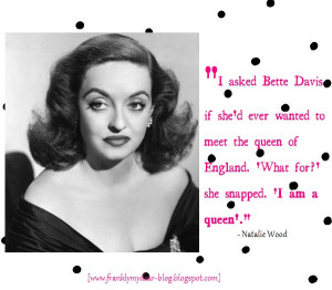 Bette Davis Meme Only bette davis could get