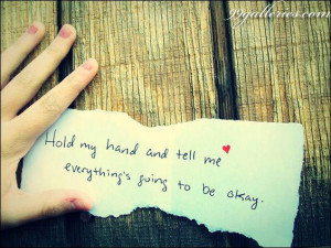 Hold My Hand (ON-HOLD)
